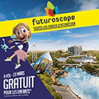 Affiche Parc d'attraction  FUTUROSCOPE - BILLET DATÉ 1 JOUR © Fnac Spectacles
