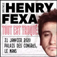 Affiche Spectacle de magie  HENRY FEXA © Fnac Spectacles