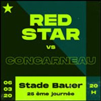 Affiche Football  RED STAR FC / US CONCARNEAU © Fnac Spectacles