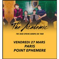 Affiche Rock  THE ACADEMIC © Fnac Spectacles