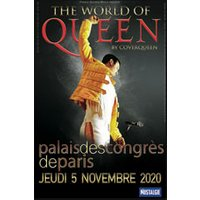 Affiche Pop-rock / Folk  THE WORLD OF QUEEN BY COVERQUEEN © Fnac Spectacles