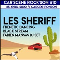 Affiche Pop-rock / Folk  FESTIVAL CAR'SCENE ROCK'SON 10 © Fnac Spectacles