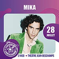 Affiche Pop-rock / Folk  MIKA © Fnac Spectacles
