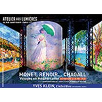 Affiche Exposition  MONET, RENOIR ... CHAGALL © Fnac Spectacles
