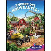 Affiche Parc d'attraction  PARC BAGATELLE © Fnac Spectacles
