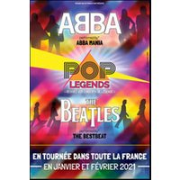 Affiche Pop-rock / Folk  POP LEGENDS : ABBA & THE BEATLES © Fnac Spectacles