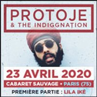 Affiche Reggae  PROTOJE © Fnac Spectacles