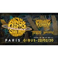 Affiche Rock  RINGS OF SATURN + ENTERPRISE EARTH © Fnac Spectacles