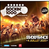 Affiche Rock  ROCKIN 1000 BESANCON BUS + CAT 1 © Fnac Spectacles