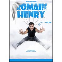 Affiche Humoristes  ROMAIN HENRY © Fnac Spectacles