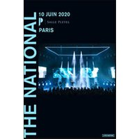 Affiche Pop-rock / Folk  THE NATIONAL © Fnac Spectacles