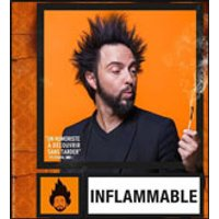 Affiche One man/woman show  DAVID AZENCOT DANS INFLAMMABLE © Fnac Spectacles