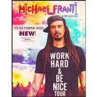 Affiche Pop-rock / Folk  MICHAEL FRANTI & SPEARHEAD © Fnac Spectacles