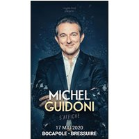 Affiche One man/woman show  MICHEL GUIDONI © Fnac Spectacles