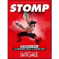 Affiche Grand spectacle  STOMP © Fnac Spectacles