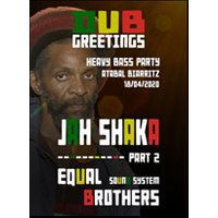 Affiche Reggae  JAH SHAKA MEETS EQUAL BROTHERS © Fnac Spectacles