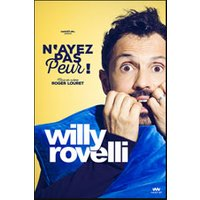 Affiche One man/woman show  WILLY ROVELLI © Fnac Spectacles