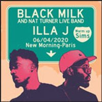 Affiche Rap/Hip-hop/Slam  BLACK MILK / ILLA J © Fnac Spectacles