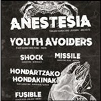 Affiche Hard-rock/Métal  ANESTESIA + YOUTH AVOIDERS +MISSILE © Fnac Spectacles