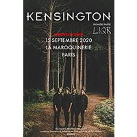 Affiche Pop-rock / Folk  KENSINGTON © Fnac Spectacles