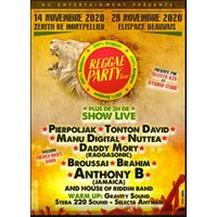 Affiche Reggae  REGGAE PARTY TOUR © Fnac Spectacles
