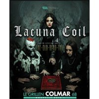 Affiche Rock  LACUNA COIL + THE OLD DEAD TREE © Fnac Spectacles