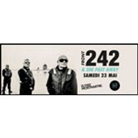 Affiche Rock  FRONT 242 & SHE PAST AWAY © Fnac Spectacles