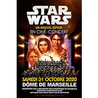 Affiche Ciné-concert  STAR WARS IN CONCERT © Fnac Spectacles