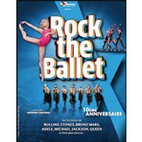 Affiche Danse contemporaine  ROCK THE BALLET X © Fnac Spectacles
