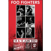 Affiche Pop-rock / Folk  FOO FIGHTERS © Fnac Spectacles