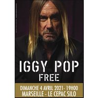 Affiche Pop-rock / Folk  IGGY POP - FREE © Fnac Spectacles