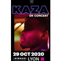 Affiche Rap/Hip-hop/Slam  KAZA © Fnac Spectacles