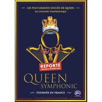 Affiche Pop-rock / Folk  QUEEN SYMPHONIC © Fnac Spectacles