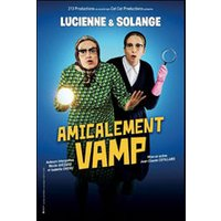 Affiche Humoristes  AMICALEMENT VAMP © Fnac Spectacles