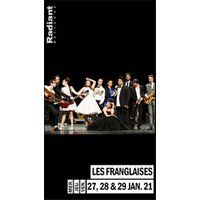 Affiche Pop-rock / Folk  LES FRANGLAISES © Fnac Spectacles