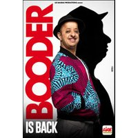 Affiche One man/woman show  BOODER IS BACK © Fnac Spectacles