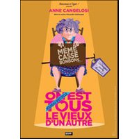 Affiche One man/woman show  MEME CASSE BONBONS © Fnac Spectacles