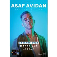 Affiche Pop-rock / Folk  ASAF AVIDAN & BAND © Fnac Spectacles