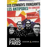 Affiche Pop-rock / Folk  LES COWBOYS FRINGANTS © Fnac Spectacles