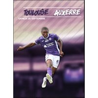 Affiche Football  TOULOUSE FC / AJ AUXERRE © Fnac Spectacles