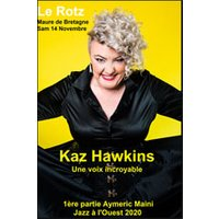 Affiche Blues/Country  KAZ HAWKINS - AYMERIC MAINI © Fnac Spectacles
