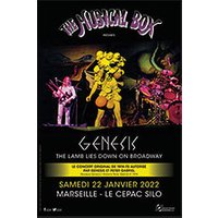 Affiche Pop-rock / Folk  THE MUSICAL BOX © Fnac Spectacles