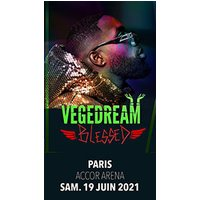 Affiche Rap/Hip-hop/Slam  VEGEDREAM © Fnac Spectacles