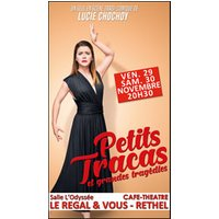 Affiche One man/woman show  LUCIE CHOCHOY © Fnac Spectacles