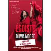 Affiche One man/woman show  OLIVIA MOORE © Fnac Spectacles