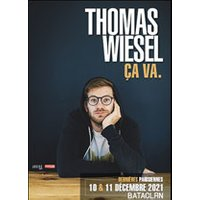 Affiche One man/woman show  THOMAS WIESEL © Fnac Spectacles