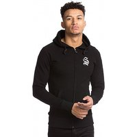 Slub Full Zip Hooded Top