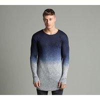 Dip Dye Mouline Vent T Shirt