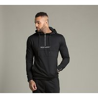 Pull Quarter Zip Hooded Top