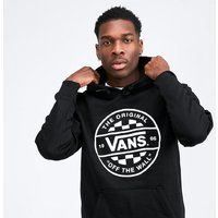 Checker Pullover Hooded Top